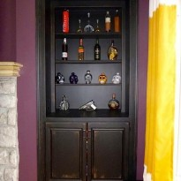 Paint the old bookcase furniture with faux painting and give it new life. The faux painting professionals at macaluso custom design, Gladstone, MO can faux paint your furniture: kitchen cabinets, bookcases, dressers, bathroom vanity.